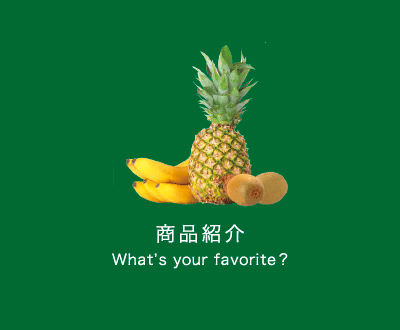 商品紹介 What's your favorite?